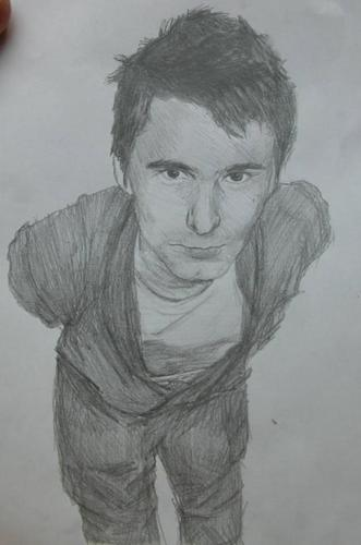 Matthew Bellamy wallpaper entitled my matt drawing