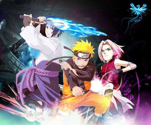 Naruto shippuden - sqaud 7