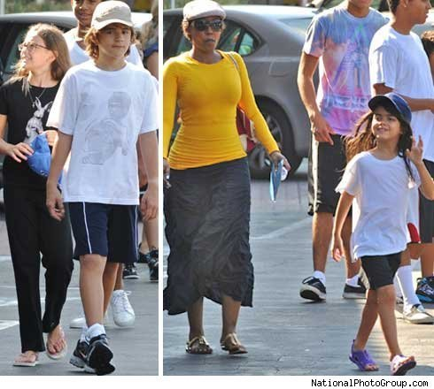 prince, paris, blanket and nanny grace