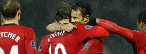 ryan giggs and wazza rooney