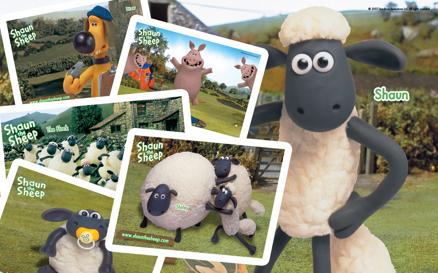 Shaun the Sheep shaun and friends fan art