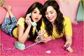 sleepover - selena-gomez-and-demi-lovato photo