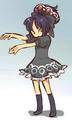 yuna dark lolita cos