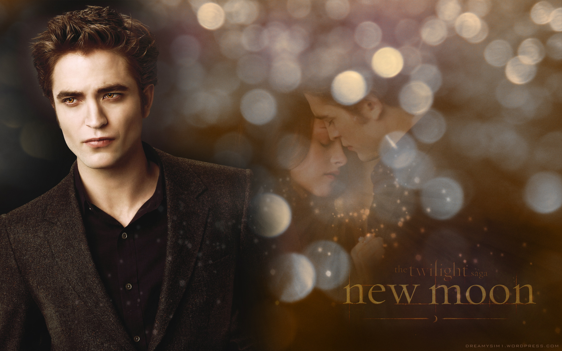 Edward Bella New Moon Wallpaper Twilight Series