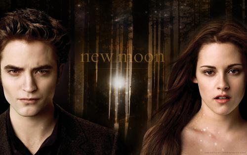 •♥• Edward & Bella NEW MOON kertas dinding •♥•