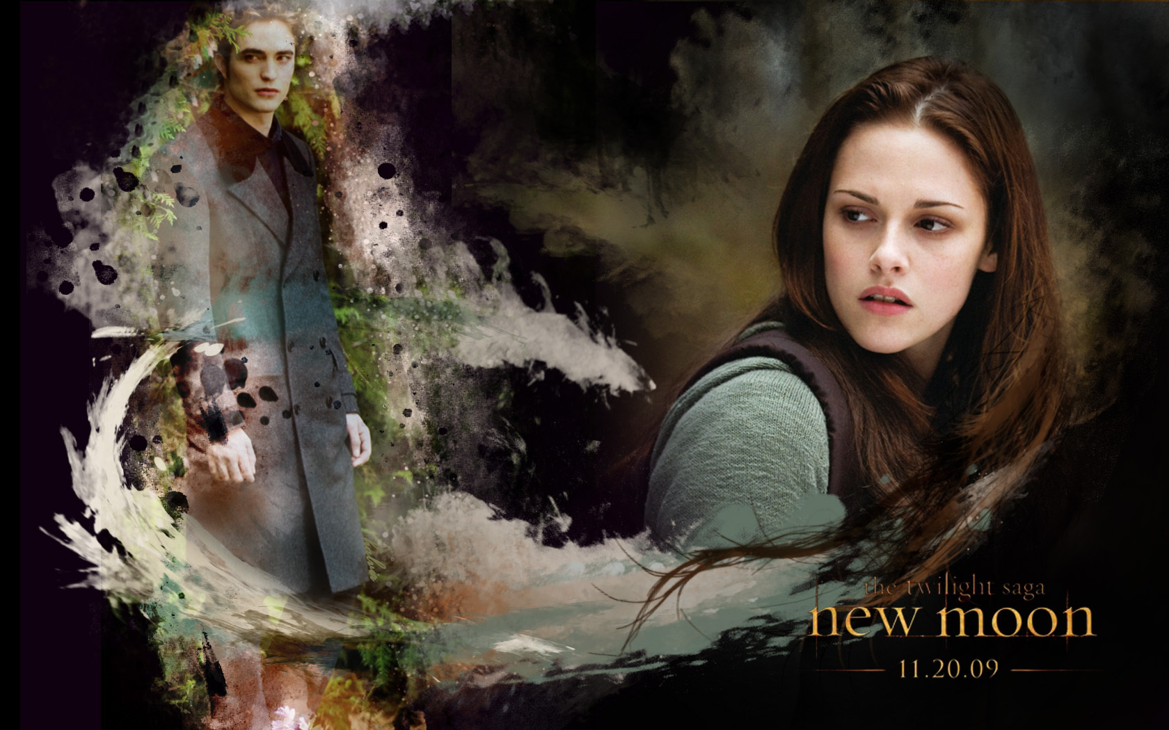 Edward Amp Bella New Moon Wallpaper Twilight Series