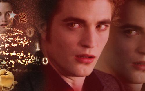 ● ☆● ☆ Edward & Bella Xmas দেওয়ালপত্র ● ☆● ☆
