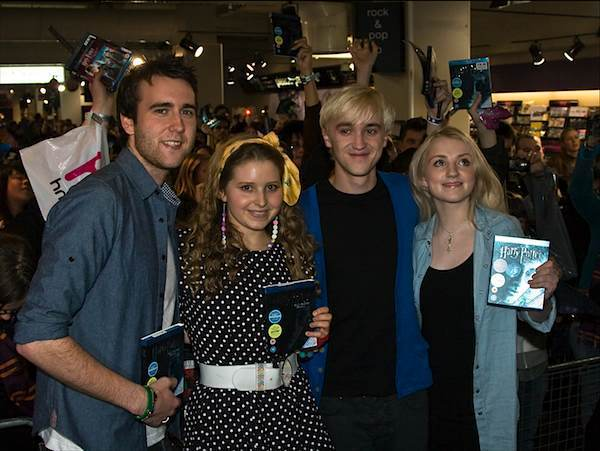 """Half Blood Prince"" Blu-Ray Signing at HMV"