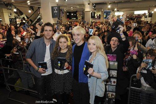 """Half Blood Prince"" Blu-Ray Signing at HMV"