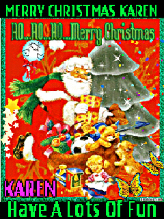 *Merry Christmas Karen*