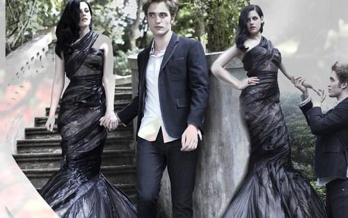 •♥• Rob & Kristen Harpers Bazaar achtergrond •♥•
