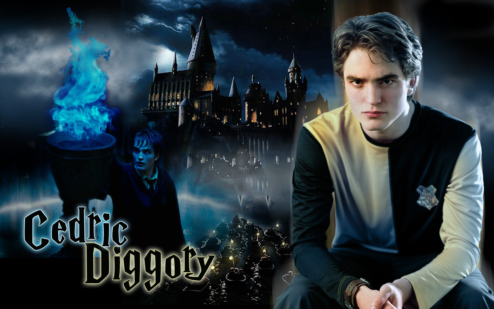 •♥• Robert Pattinson as Cedric Diggory HARRY POTTER দেওয়ালপত্র •♥•