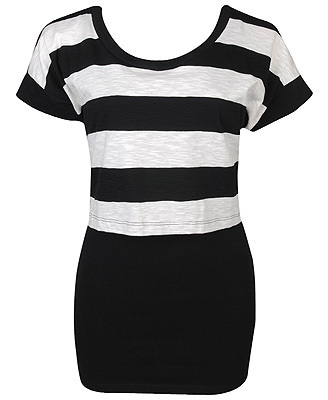 2-Piece Striped top, boven