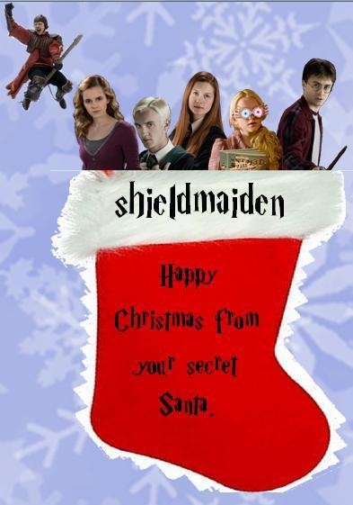 2nd half of shieldmaiden's secret santa present