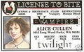 Alice Cullen license to bite - twilight-series photo