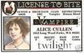 Alice Cullen license to bite - twilight-series photo