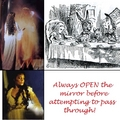 Always rembmer: Open Mirror First! - the-phantom-of-the-opera fan art