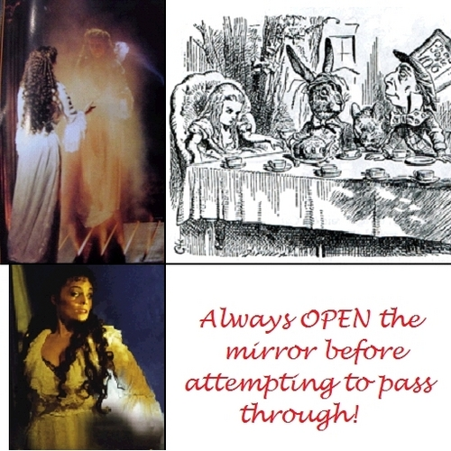 Always rembmer: Open Mirror First!