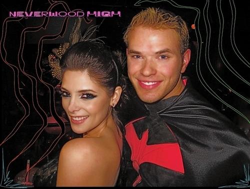 Ashley and Kellan - Halloween party