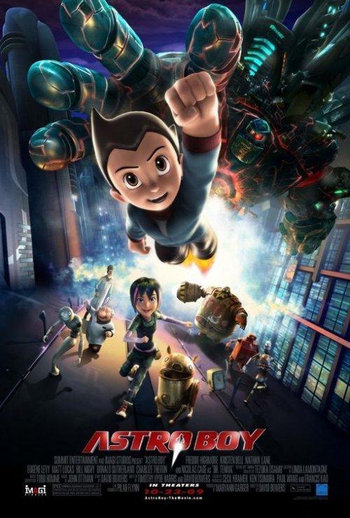 Astro Boy The Movie Poster