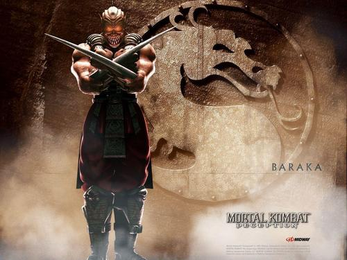 Baraka - mortal-kombat Wallpaper