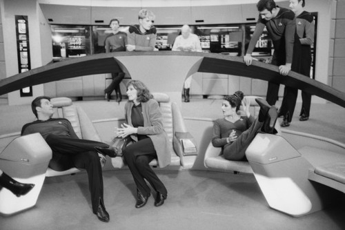 Star Trek-The Next Generation wallpaper called Behind The Scenes