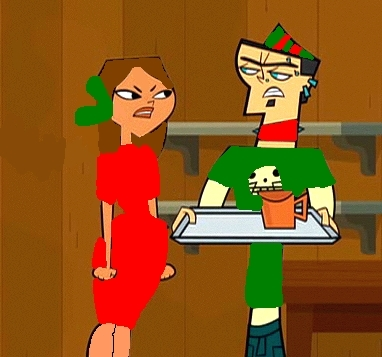 Blanca and Duncan (Christmas Outfits)
