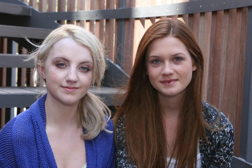 Bonnie and Evanna