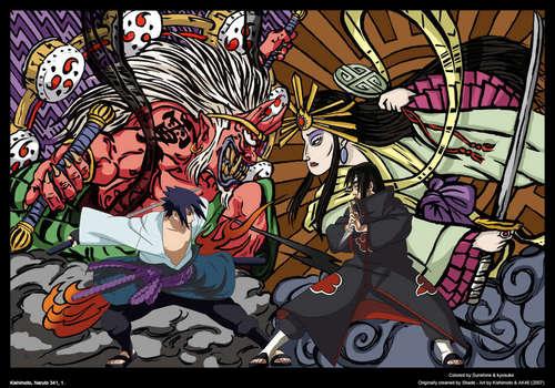 Brother vs Brother::Uchiha power