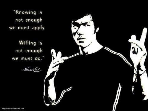 Bruce Lee - kung-fu Photo