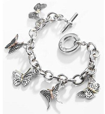 Buttrfly Charm Bracelet