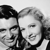 Cary Grant photo with a portrait called Cary Grant and Jean Arthur