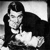 Cary Grant photo probably with a portrait titled Cary Grant and Katharine Hepburn