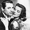 Cary Grant photo with a portrait titled Cary Grant and Katharine Hepburn