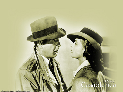 Casablanca wallpaper possibly containing dress blues, regimentals, and a green beret titled Casablanca