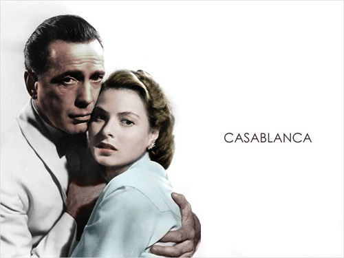 Casablanca wallpaper with a portrait called Casablanca