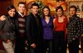 Cast Christmas Photo
