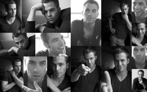 Chris Pine Collage