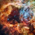 Weihnachten baum Nebula