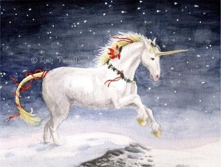navidad Unicorn