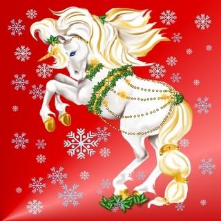 giáng sinh Unicorn