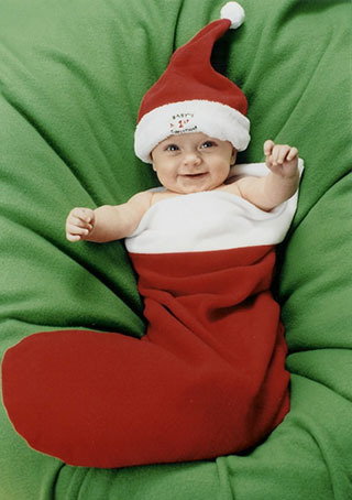 Sweety Babies wallpaper with a neonate titled Christmas baby