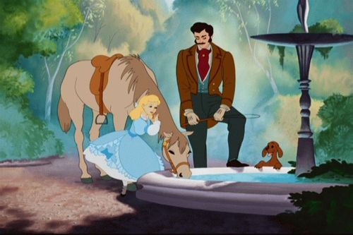 Cendrillon and her father