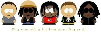DMB (south park style) - dave-matthews-band Fan Art