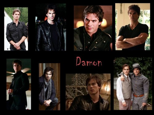 Damon Multi-Wall - damon-salvatore Wallpaper