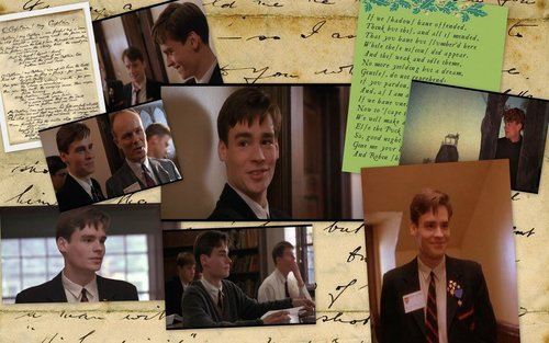 Dead Poets Society wallpaper probably containing a newspaper entitled Dead Poets Society