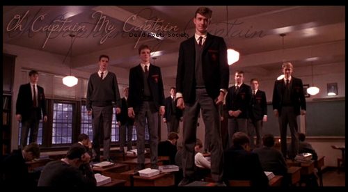 Dead Poets Society wallpaper with a business suit entitled Dead Poets Society