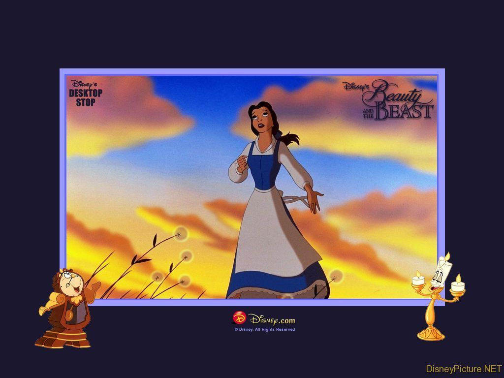 Beauty And The Beast,Wallpaper