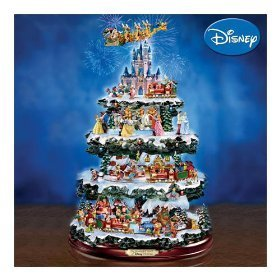 Classic Disney wallpaper called Disney Christmas Tree