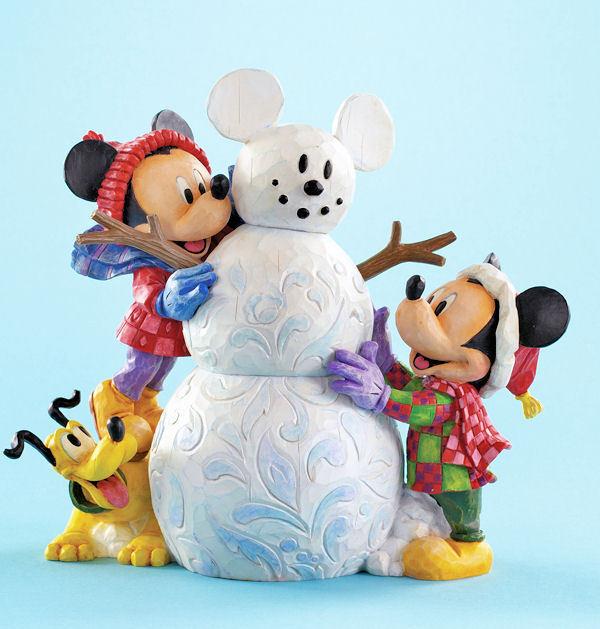 Snow Mouse Micky !